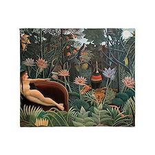 Henri Rousseau The Dream Throw Blanket