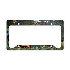 Henri Rousseau The Dream License Plate Holder