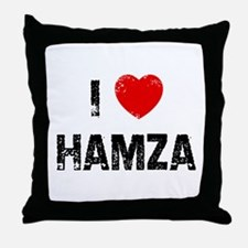 I * Hamza Throw Pillow