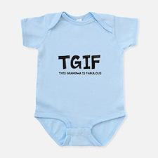 Fabulous Grandma Infant Bodysuit