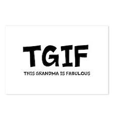 Fabulous Grandma Postcards (Package of 8)
