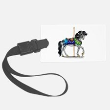 The Carousel Horse Luggage Tag