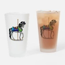 The Carousel Horse Drinking Glass