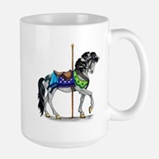 The Carousel Horse Mugs