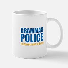 Grammar Police Small Mugs