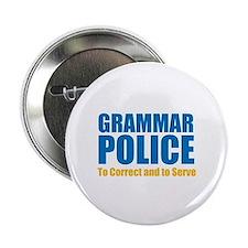 """Grammar Police 2.25"""" Button"""