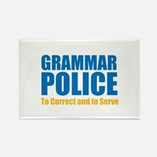 Grammar Police Rectangle Magnet (10 pack)