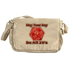 May Your Day Be All 20's Messenger Bag