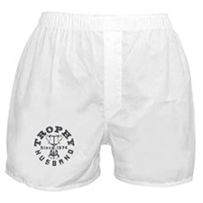 Trophy Husband Since 1974 Boxer Shorts