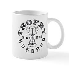 Trophy Husband Since 1974 Small Mug