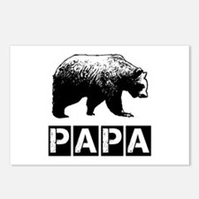 Papa-bear Postcards (Package of 8)
