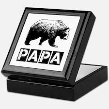 Papa-bear Keepsake Box