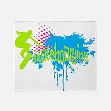 Funny Teenage Throw Blanket