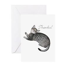 Kitten Thanks! Greeting Cards