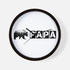Papa-bear-version-2 Wall Clock