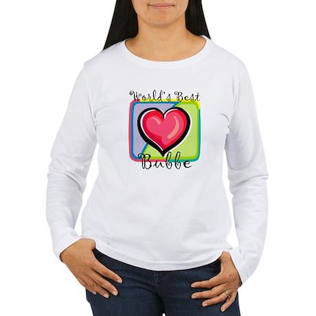 WB Grandma [Yiddish] Women's Long Sleeve T-Shirt