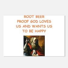 root beer Postcards (Package of 8)