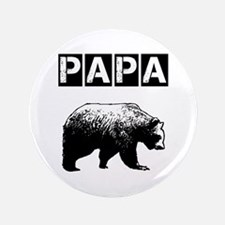 "Papa-bear-ver3 3.5"" Button"