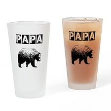 Papa-bear-ver3 Drinking Glass