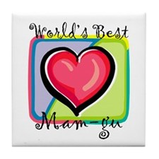 WB Grandma [Welsh] Tile Coaster