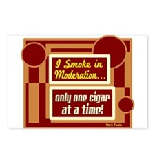 Smoke In Moderation-Mark Twain Postcards (Package