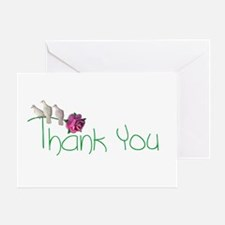 Doves Thank You Greeting Card