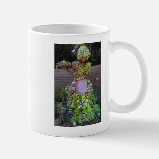 Succulent Lady Mugs