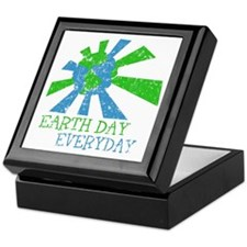 Earth Day Everyday Keepsake Box