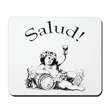 Spanish Toast Wine Mousepad