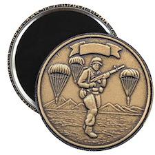 Tanger Challenge Coin... Magnet