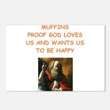 muffin Postcards (Package of 8)