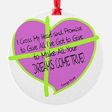 Cross My Heart-George Strait Ornament