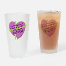 Cross My Heart-George Strait Drinking Glass