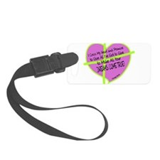 Cross My Heart-George Strait Luggage Tag