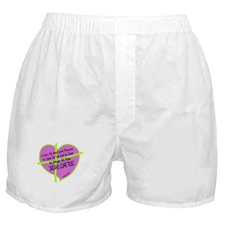Cross My Heart-George Strait Boxer Shorts