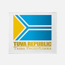 Tuva Flag Throw Blanket