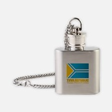 Tuva Flag Flask Necklace