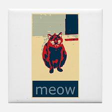 meow Tile Coaster