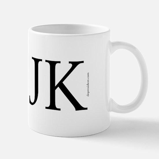 I (heart) JK. Mug