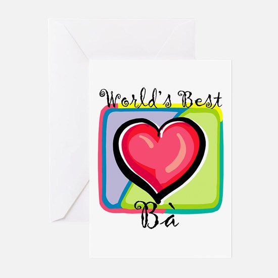 WB Grandma [Vietnamese] Greeting Cards (Package of