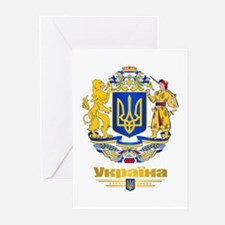 Ukraine COA Greeting Cards