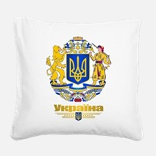 Ukraine COA Square Canvas Pillow