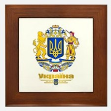 Ukraine COA Framed Tile