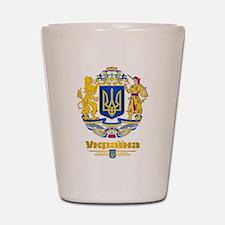 Ukraine COA Shot Glass