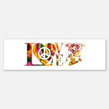 PITBULL LOVE Bumper Bumper Bumper Sticker