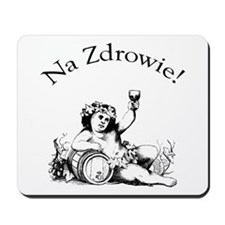 Polish Toast Wine Mousepad