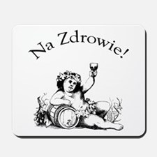 Polish Toast Wine Mousepad