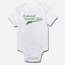 Unique Proud girlfriend marine Infant Bodysuit