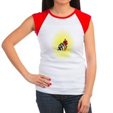 Icehockey Women's Cap Sleeve T-Shirt