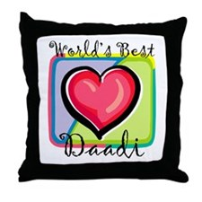 WB Grandma [Urdu] Throw Pillow